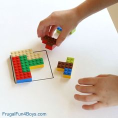 Brilliant! LEGO Brain Puzzles. Great STEM Building Challenge for Kids.