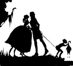 male and female silhouettes - Google Search