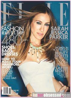 SJP covers Elle Magazine, November 2012.