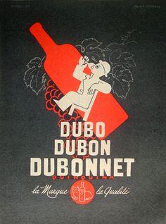 A. M. Cassandre Dubonnet 1954