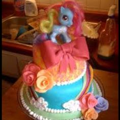 OH MY! My little pony cake!