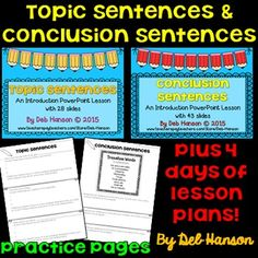 essay leads lesson