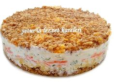 A delicious salad of Russian cuisine I learned from our bride Jane. … Vejeteryan yemek tarifleri – The Most Practical and Easy Recipes Best Appetizers, Appetizer Recipes, Salad Recipes, Snack Recipes, Snacks, East Dessert Recipes, Turkish Salad, Turkish Recipes, Ethnic Recipes