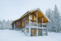 Дом «Медведь» (House Karhu) в Финляндии от Ikihirsi Oy.