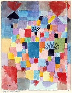 The Athenaeum - Southern Gardens (Paul Klee - )