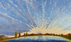 """The Cloud Appreciation Society featured my painting """"Morning Glory"""" Oils on Canvas Mindfulness Practice, Peterborough, Oil On Canvas, Appreciation, Earth, Clouds, Fine Art, Painting, Inspiration"""