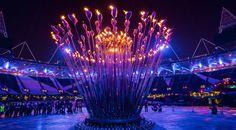 London Olympic Ceremony Cauldron Thomas Heatherwick