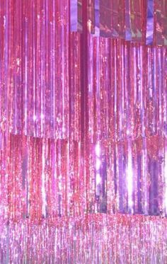 Pink glitter curtains pink glitter curtains hologram magic p i n k pink aesthetic x px pink sparkle voile . Bedroom Wall Collage, Photo Wall Collage, Picture Wall, Glitter Curtains, Cristal Rose, Sparkles Background, Party Background, Mode Rose, Photocollage
