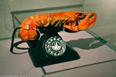 "Salvador Dali ""Lobster Telephone"" (1936) #DALI #SALVADORDALI"