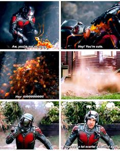 That scene was hilarious.<--this whole movie was hilarious. <--every marvel movie is hilarious. There awesome! Marvel Vs Dc Comics, Marvel Memes, Marvel Avengers, Funny Avengers, Loki, Scott Lang, Dc Movies, Look At You, Guardians Of The Galaxy