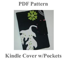 Nook cover pattern Nook Cover, Kindle Cover, Crafty, Unique Jewelry, Handmade Gifts, Pattern, Etsy, Vintage, Kid Craft Gifts
