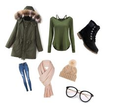 """Untitled #8"" by brooklyne200 on Polyvore featuring Timberland, Free People and Loro Piana"