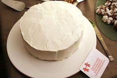 gluten free, moist, fluffy white cake recipe. Great for wedding cakes!