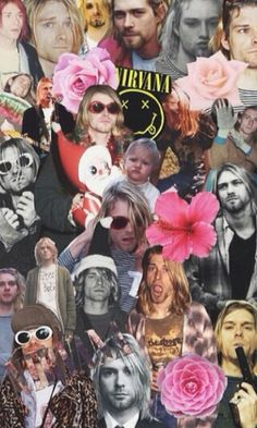 Perfect Kurt Cobain collage is perfect