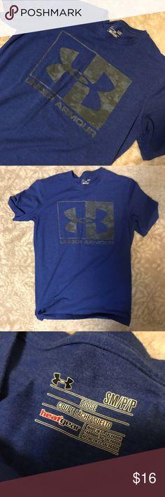 Euc! Online Shop Men's 2xl Loose Fit Under Armour Heat Gear Gray Shirt