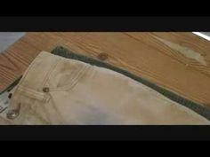 Como Reducir o Achicar un pantalon hasta 2 tallas (Peticion) - YouTube