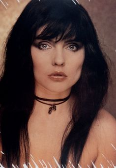 Debbie Harry/Blondie. Not so Blond.