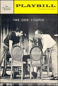broadway play the odd couple