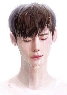 Lee Jong Suk fanart Cr as tagged