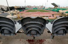 Relatives of the 72 people killed in 2012 in Egypt's worst stadium violence celebrated the sentence, but some feared a miscarriage of justice