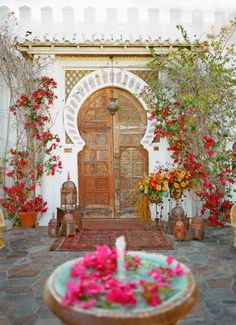 EN MI ESPACIO VITAL: Muebles Recuperados y Decoración Vintage: Quedamos en... el rincón árabe