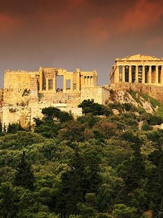 Great memories of our trip to Athens, Greece. Hiked up to the Acropolis and danced on the stones with my Greek BFF.