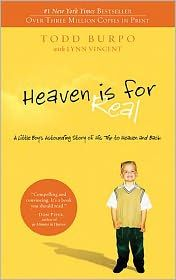 I already believed that Heaven is for real, but this book makes you think about what it will be like.  Is little Colton's story 100% accurate?  I don't know, but I do believe that God takes care of His children, so I wouldn't bet against his depiction.