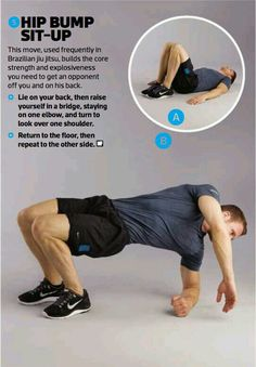 Hip Bump exercise