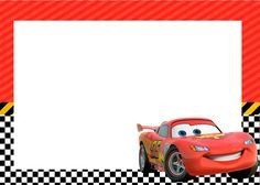 Kit Festa Carros Disney Gratis - Convite