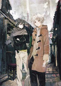 No. 6 ~~ Iconic image set in the slums outside the dome :: Nezumi Shion
