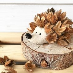 All Details You Need to Know About Home Decoration - Modern Autumn Crafts, Nature Crafts, Diy For Kids, Crafts For Kids, Salt Dough, Leaf Art, Hedgehog, Diy And Crafts, Projects To Try