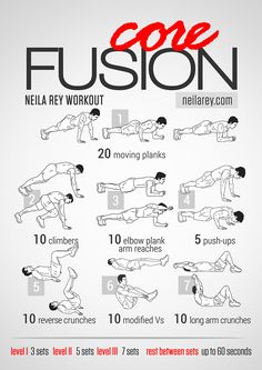 Core Fusion Workout / Works: abs & core #fitness #fit2014 #abs #workout #workoutroutine