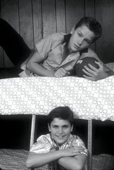 Joaquim & River Phoenix... I had such a crush on River after stand by me.