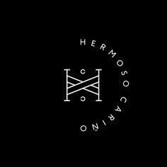 Logo for Mexican designer gift shop Hermoso Cariño by La Tortilleria, Mexico.