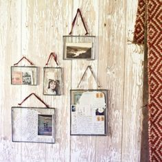 Kiko Glass Frame by Nkuku. Gosh I love the idea of these! Would be really lovely for things like letters or creating a mini collage or something. Old Town Chicago, Cabin Chic, Anthropologie Home, Sustainable Gifts, Household Items, Decoration, Backdrops, Wall Decor, Creative