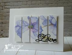 Love... panel card by Mary V