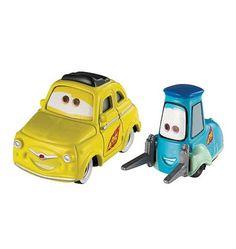 Raceteam Luigi & Guido - Pixar CARS 2  - diecast car toys