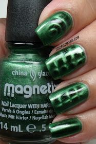 Colores de Carol: China Glaze Magnetix II Con-fused