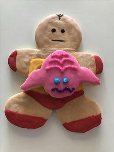 Krang and Robot Cookies - Teenage Mutant Ninja Turtles