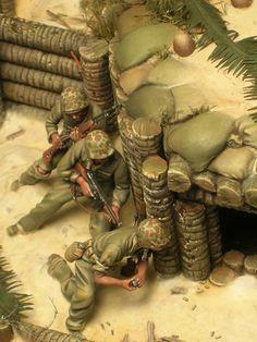 II Guerra Mundial - Soldados americanos (WWII - american soldiers)