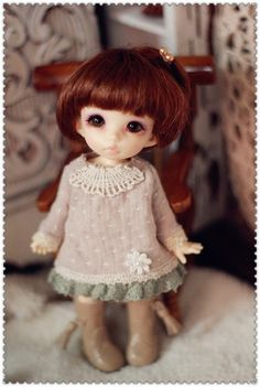 Dress  for Pukifee or Lati Yellow by AngelGardenByChilly on Etsy, $22.00
