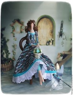 Тильда Фея Butterfly - тильда,тильда кукла,тильда ангел,кукла,кукла ручной работы