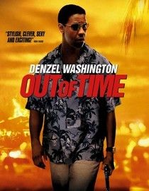 Out of Time (2003) When a small Florida town is shocked by a double homicide, chief of police Matt Lee Whitlock races againt time to solve the case as he himself falls under suspicion. To uncover the truth, he'll have to stay a few steps ahead of his own police force. Denzel Washington, Eva Mendes, Sanaa Lathan...1c