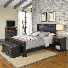 Americana Panel 4 Piece Bedroom Set