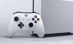 Xbox One S : Microsoft officialise son nouveau modèle durant sa conférence de l'E3 2016 V Games, Xbox Games, Comic Games, Video Game News, Video Games, Consoles, Apartment Warming Gifts, Video Game Heaven, Microsoft