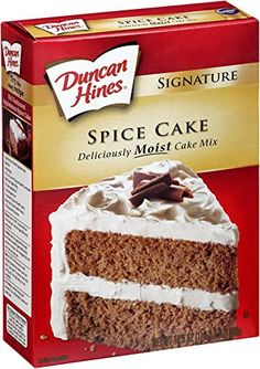 Duncan hines spice cake cookie recipe