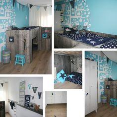 Boys room on pinterest met lief lifestyle and van - Idee deco tiener slaapkamer jongen ...