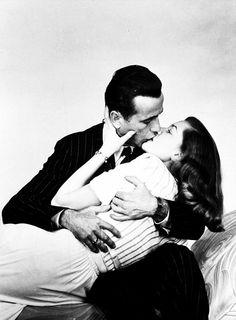 Bogart & Bacall.