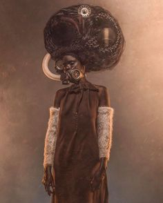 The latest project by photographer and digital artist, Osborne Macharia. This is the story of a special unit of 4 women in a small village within Kipipiri Forest. They were the wives to 4 of the Ma… Contemporary African Art, Black Artwork, Ex Machina, Afro Punk, African American Art, African Culture, African History, Black Artists, Photo Series