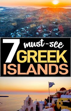 Going on a Greek Islands vacation? Here are the 7 best Greek Islands to visit with travel tips included for each one. Read these travel to Greece tips before you go! #Greece #GreekIslands #TravelTips Travel Blog, Europe Travel Tips, European Travel, Travel Advice, Europe Train Travel, Travel Through Europe, Us Travel, Europe Destinations, Wanderlust Travel
